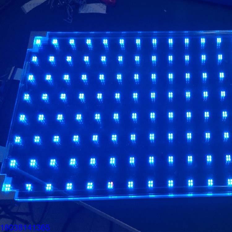 LED光电玻璃P60智能电子玻璃幕墙屏