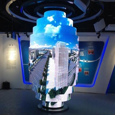 P4室内高清LED圆柱屏