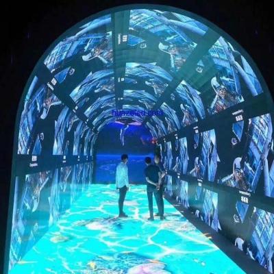 时光隧道互动体验led显示屏