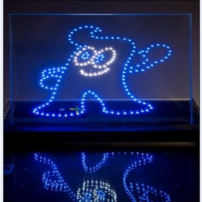 P10高透光LED智能光电玻璃屏