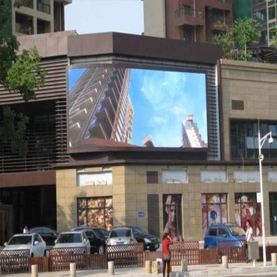 户外全彩LED显示屏P6LED广告电子屏生产厂家直销