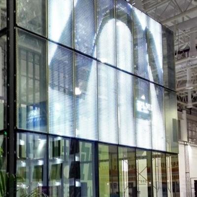 LED光电玻璃P40led玻璃显示屏智能玻璃幕墙屏