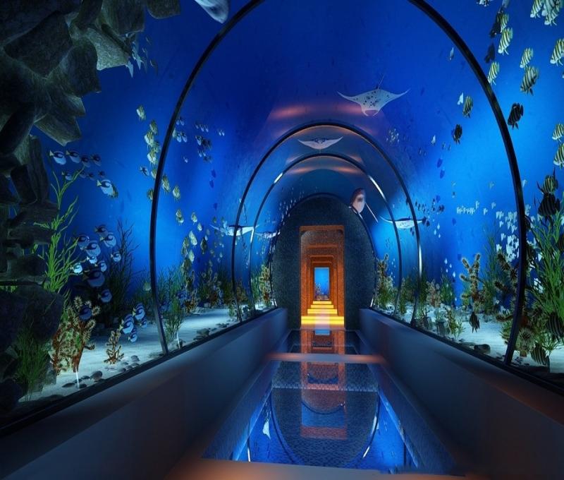 华泽光电3D互动时光隧道led显示屏